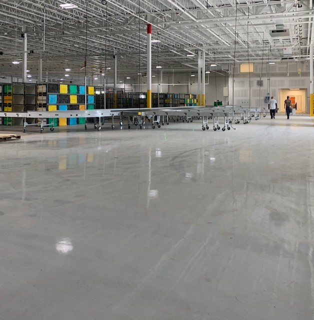 Rotterdam Warehouse Epoxy