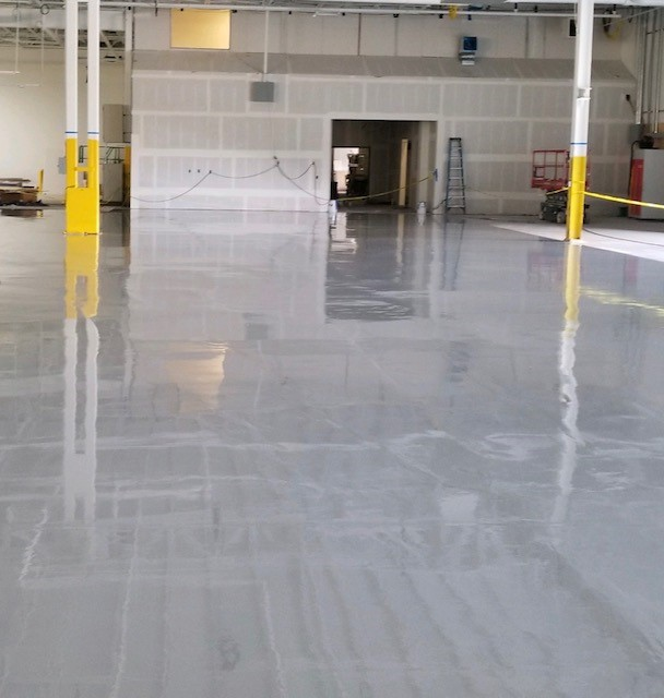 Curing Warehouse Epoxy